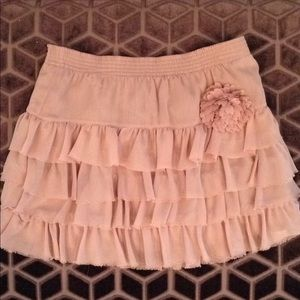 Other - Girls ruffle skirt by Zara Kids